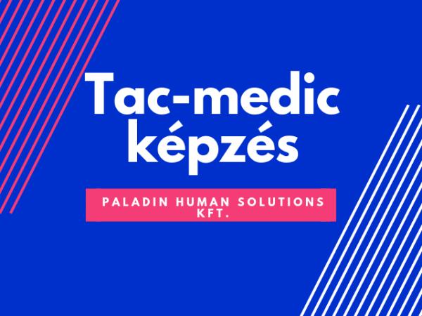 tac-medic képzés